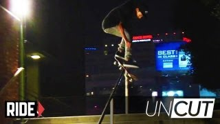 Nyjah Huston The Greatest Back to Back Rail Tricks Ever? - UNCUT