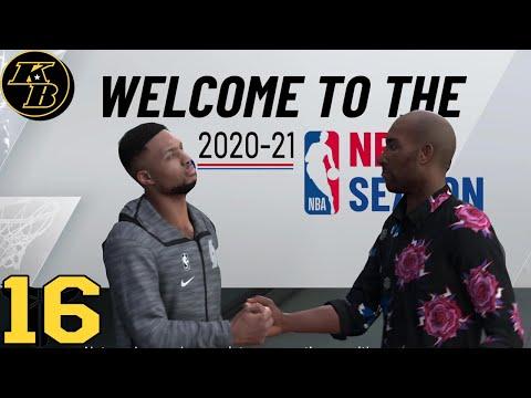 "NBA 2K21 MyCAREER Mamba Forever | ""Undrafted"" WELCOME TO THE 2020-21 NBA SEASON! Ep.16 |"