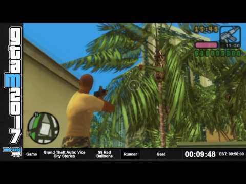 GTAM2017 - Grand Theft Auto: Vice City Stories 99 Red Balloons by Gaël