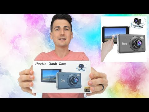 REVIEW | Peztio Dual Dash Cam W/ Touchscreen, 1080P HD, Night Vision