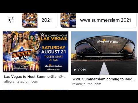 Las Vegas Raiders To Host WWE SummerSlam At Allegiant Stadium,By Eric Pangilinan