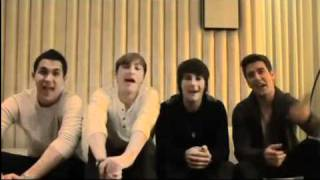 Big Time Rush Saying Happy Valentine