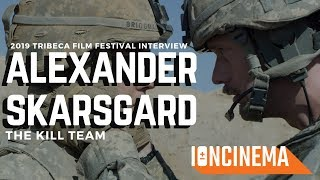 Interview Alexander Skarsgard - The Kill Team