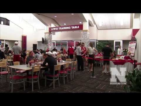 Nebraska Athletic Lewis Training Table