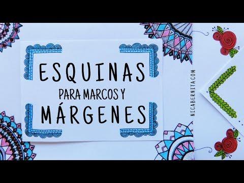 Esquinas Para Marcos Y Márgenes Para Cuadernos O Cartas