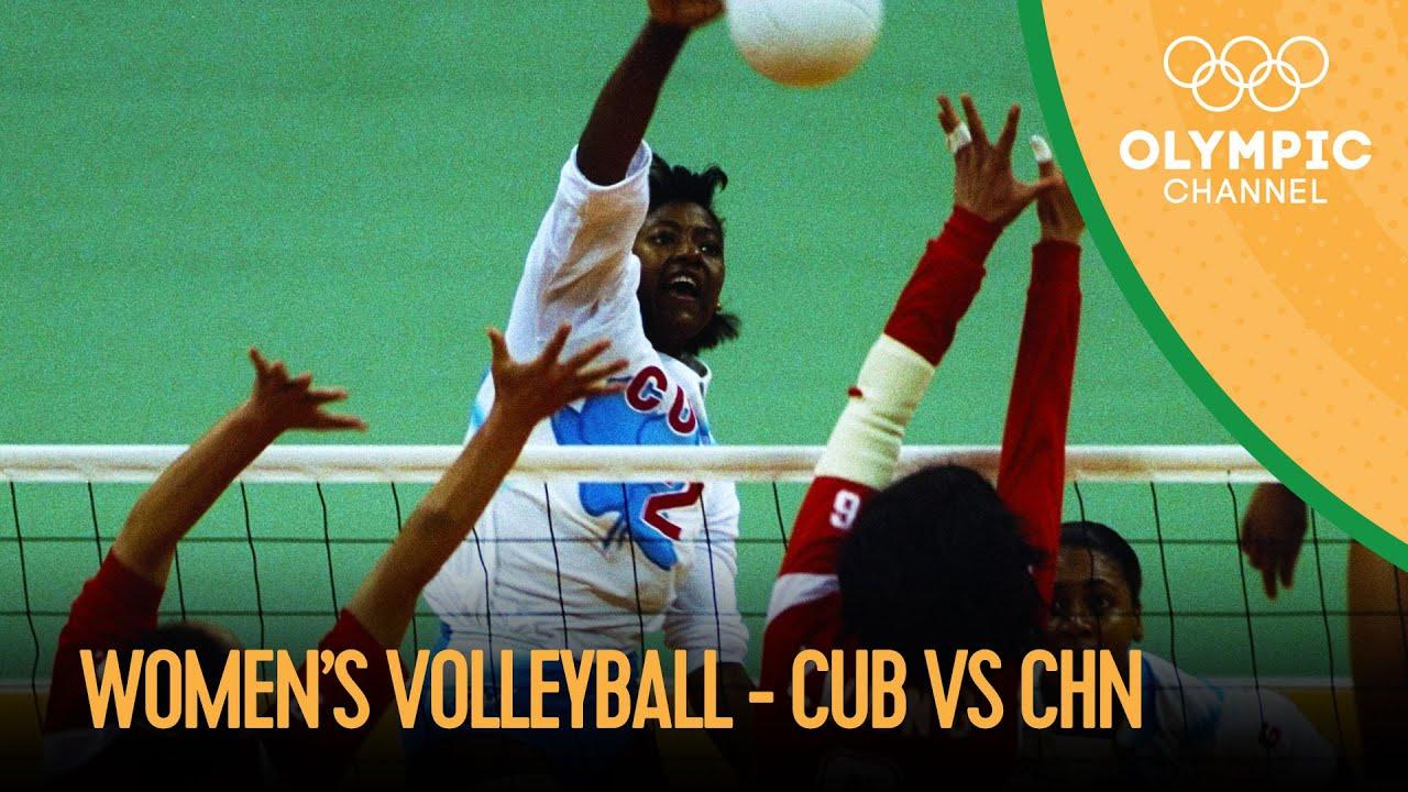 Download Cuba vs China - Women's Volleyball Final | Atlanta 1996 Replays