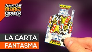 La carta fantasma truco de magia con cartas | aprender magia gratis