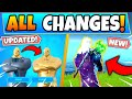 All The New Changes Epic DIDN'T Tell You About! - Fortnite Battle Royale