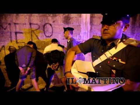 Killer minorenni presi dai carabinieri (Newfotosud - Alessandro Garofalo)