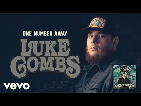 Luke Combs  e Number Away Audio