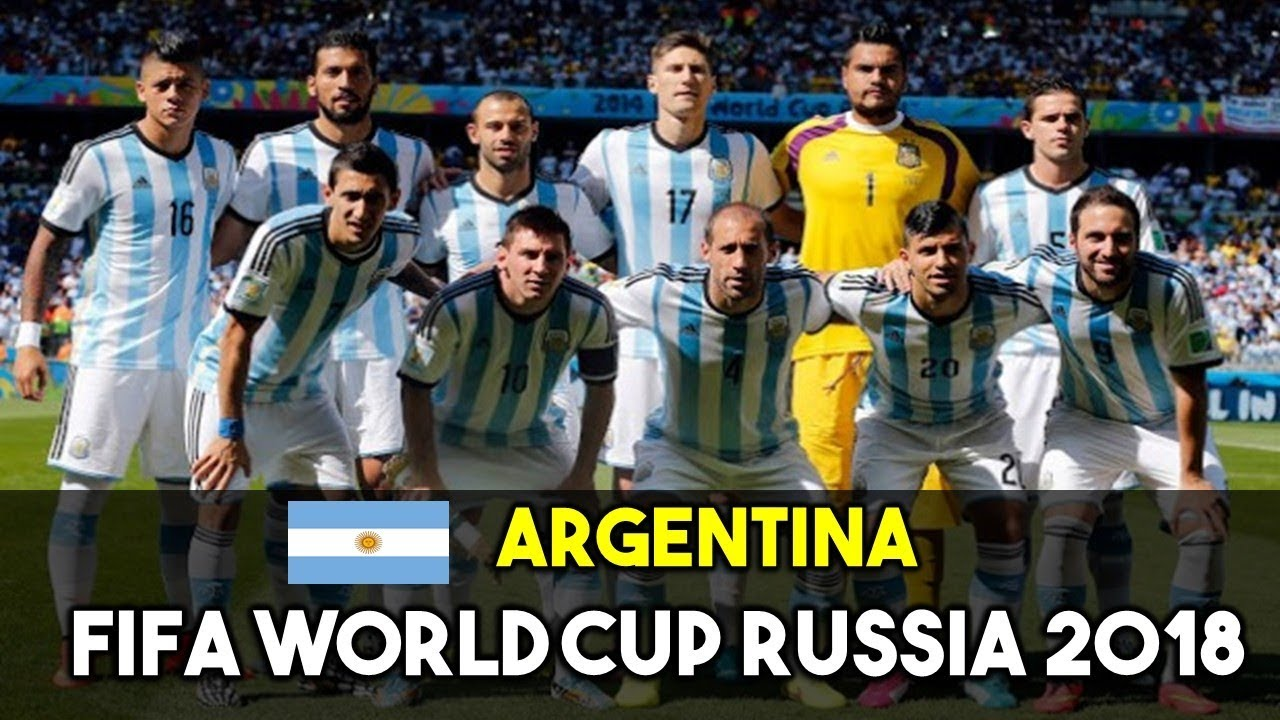 Argentina Squad For Fifa World Cup Russia