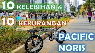 Sepeda Lipat Pacific Noris 2.0 (10 Kelebihan dan Kekurangan)