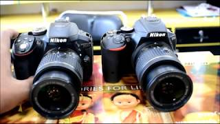 NIKON D5300 VS D5500 ? Know which is better Beginner DSLR !!