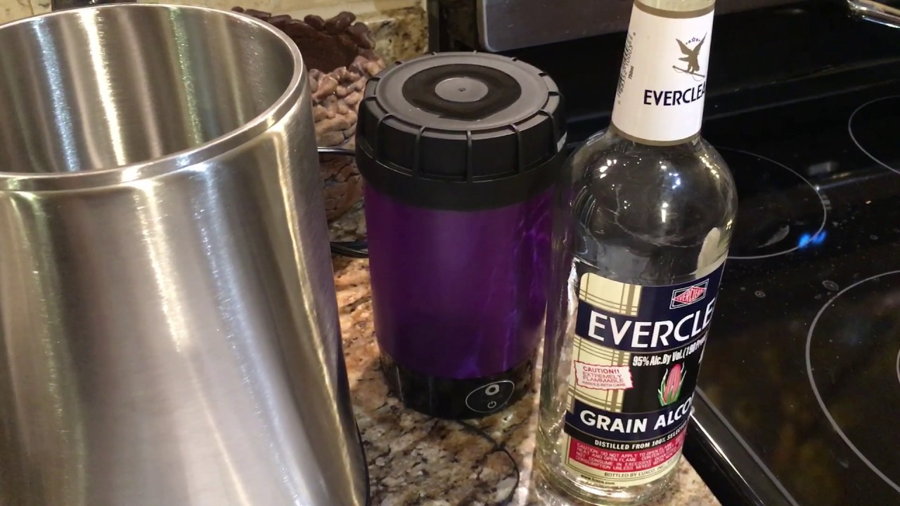 TIncture Requires Everclear