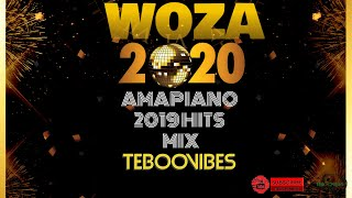 31st December Amapiano Mix | Woza 2020!!!! | New Years Eve Amapiano MIx!! TebooVibes Let's Vibe!!!