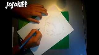 Speed drawing #12 Code Lyoko : Aelita , Jeremy , Odd ,Yumi et Ulrich