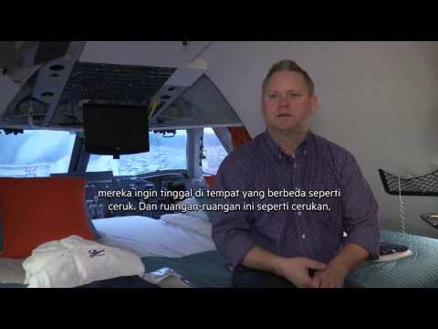 Hotel Pesawat Unik di Stockholm -NET12
