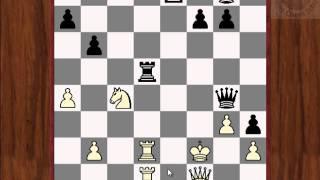 """Шахматная комбинация """"РЕНТГЕН"""""""