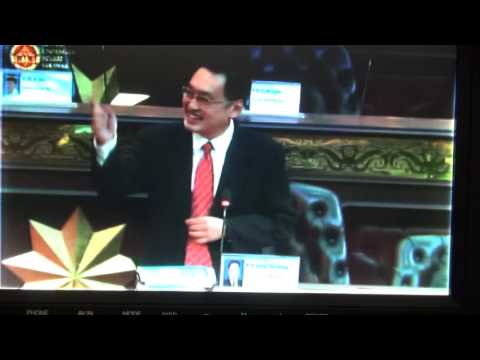 YB Chong Chieng Jen Debate on His Excellency's Address in the Sarawak State Assembly MAY 2017 张健仁