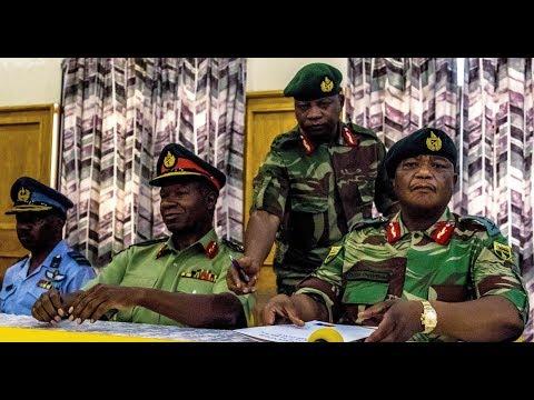 MILITARY COUP? Zimbabwe President Robert Mugabe Arrested