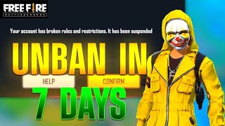 How to unban fŗee fire id    how to unban free fire id 2021    unban free fire account apk