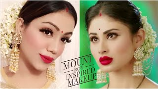 Mouni Roy Inspired Makeup Look || Affordable Easy Celeb Makeover || Fabulous Zara