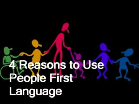 How Language Of Special Education Is >> Special Education People First Language Youtube