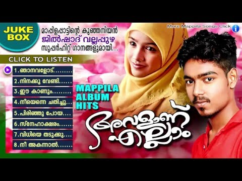 അവളാണ് എല്ലാം || Jilshad Vallapuzha Hit Mappila Pattukal | Mappila Album Songs New 2016