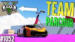 ERSTER TEAM PARCOUR ZU DRITT (+Download)| GTA 5 - Custom Map Rennen