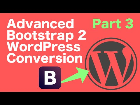 Advanced Bootstrap to WordPress - Part 3 - Adding Assets
