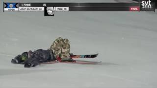 Luca Schuler Crash X-Games 2017 Big Air