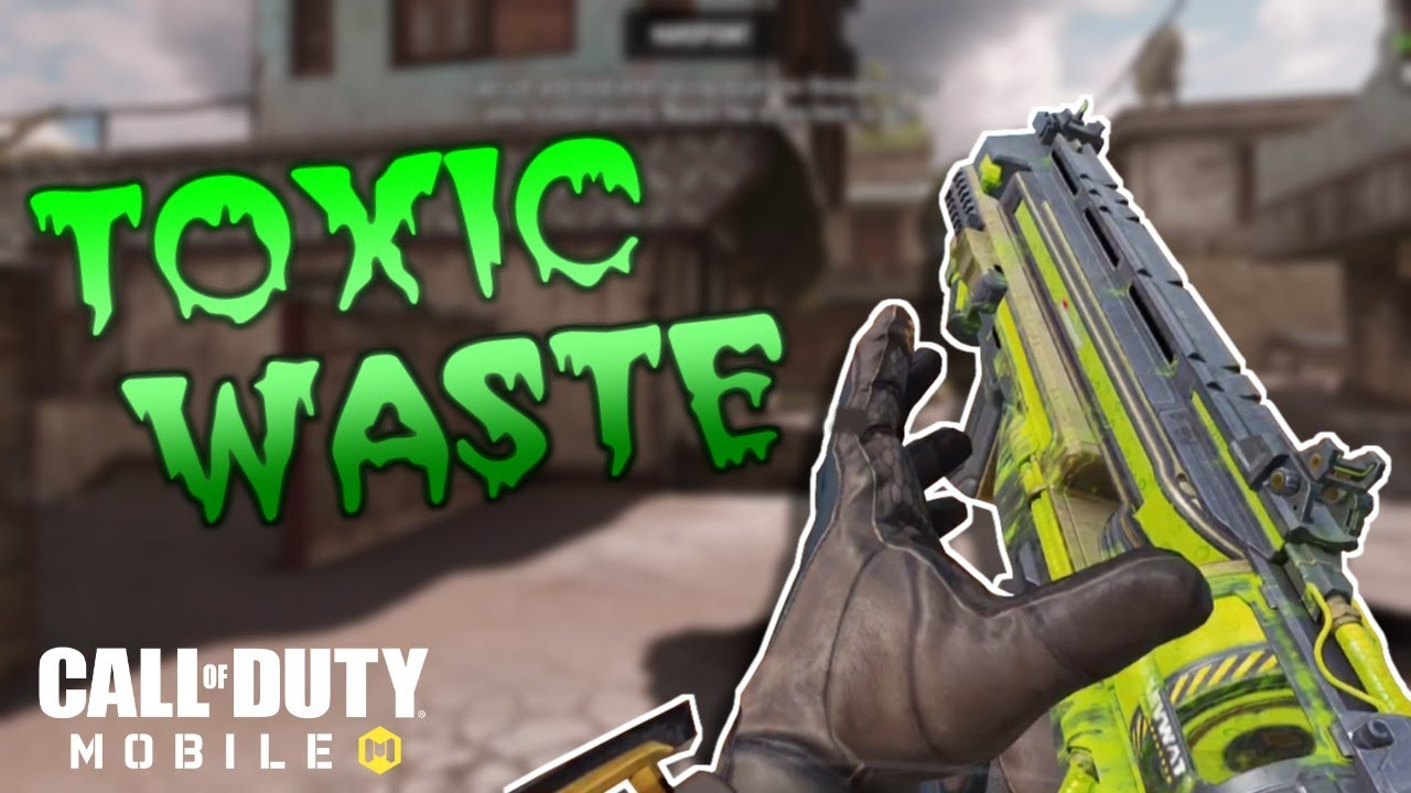[COD MOBILE] PDW-57 TOXIC WASTE Gameplay!!!