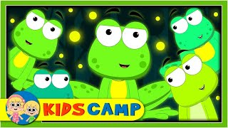 Five Little Speckled Frogs + More Nursery Rhymes And Kids Songs by KidsCamp
