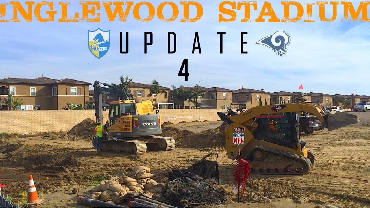 La Rams Chargers Inglewood Nfl Stadium Construction