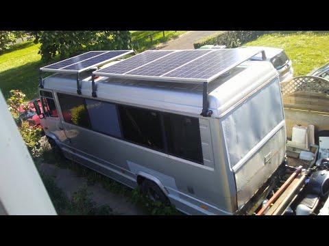 ShortBus Life - Solar Electrical System - Mercedes 814d Vario Minibus Into Motorhome