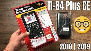 2018 TI-84 Plus CË | Black Edition
