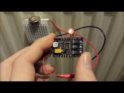 Thermoelectric Energy Harvesting Module for Appliances and Wearables