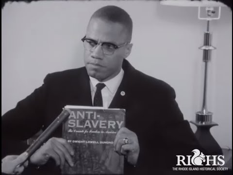 Malcolm X Interview in Providence, Rhode Island USA | 1961