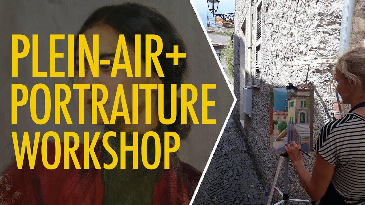 Plein-air and Portraiture workshop