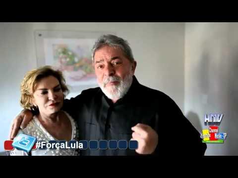Ex-presidente Lula fala sobre o Câncer e Agradece Manifestações de Apoio .HD