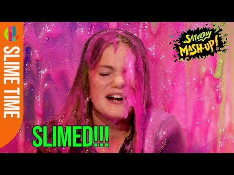 Jenny from The Worst Witch gets slimed!