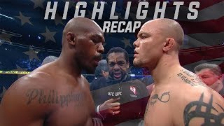 Jon Jones vs Anthony Smith Highlights Recap