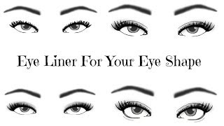 Eyeliner For YOUR Eye Shape