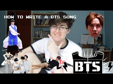 HOW TO WRITE A BTS SONG