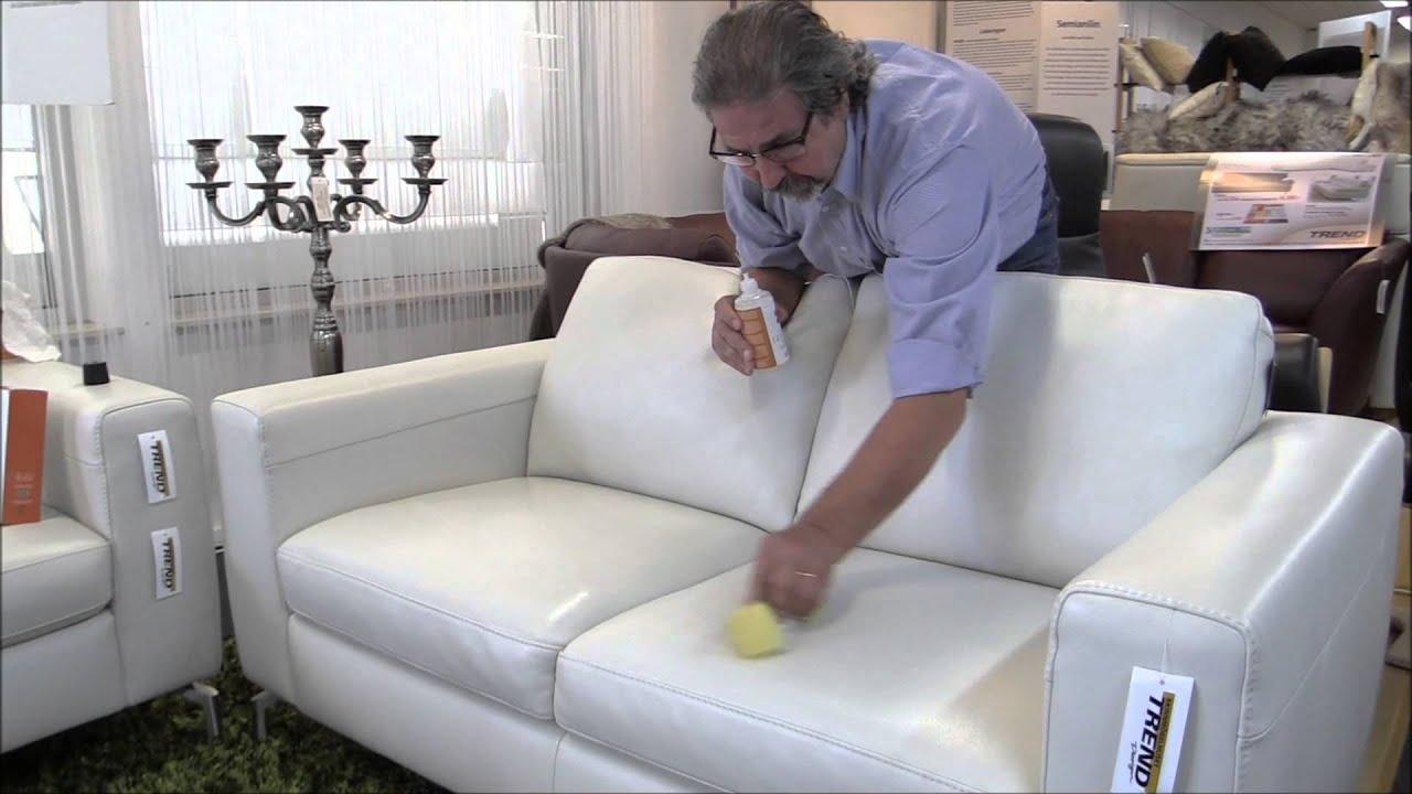 skötsel av skinnmöbler