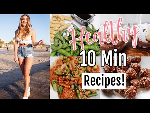 Healthy + Easy Vegan Recipes // My Go To Recipes to BOOST ENERGY!