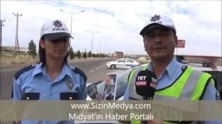 Midyat'ta Bayram Öncesi Trafik Kontrolü
