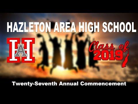 Hazleton Area High School 2019 Commencement