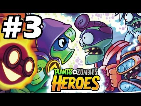 Plants vs Zombies Heroes Gameplay Walkthrough Part 3 -  พืชปะทะซอมบี้ ฮีโร่