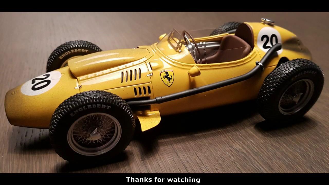 World Champion Hawthorn 1958 1:18 CMR Ferrari Dino 246 f1 gp France